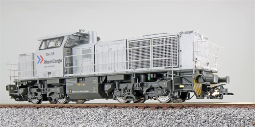 ESU 31301 - Diesellok, H0, G1000, DH 708 RheinCarg
