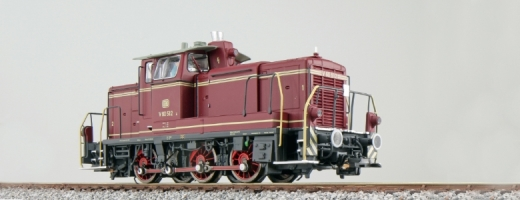 ESU 31410 - Diesellok, H0, BR V60, V60 512, altrot