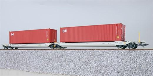 ESU 36540 - Taschenwagen, H0, Sdggmrs, 37 84 499 3
