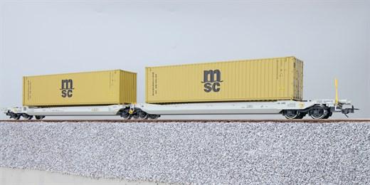 ESU 36541 - Taschenwagen, H0, Sdggmrs, 37 84 499 3