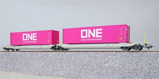 ESU 36542 - Taschenwagen, H0, Sdggmrs, 37 84 499 3