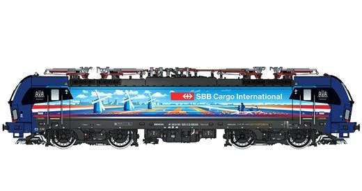 L.S. Models LS17113 - E-Lok BR 193 525 SBB Cargo /