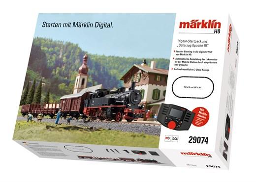 Märklin 29074 - Digital-Startpackung m.BR 74