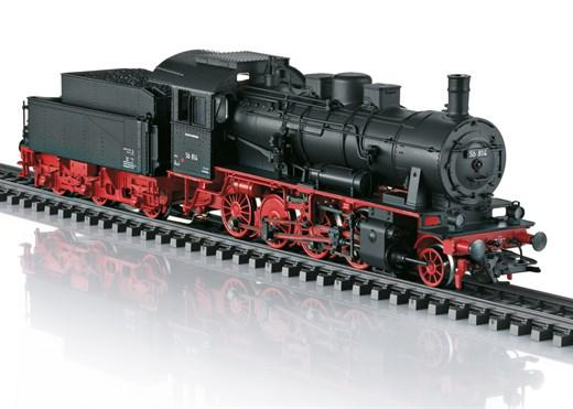 Märklin 37518 - Güterzug-Dampflok BR 56 DB