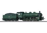 Märklin 39551 - Güterzug-Dampflokomotive mit Schle