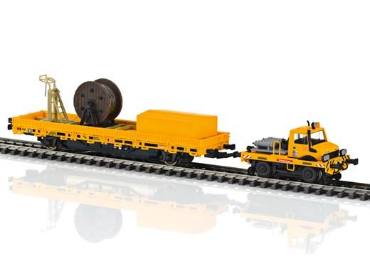 Märklin 39940 - Zweiwege-Unimog mit Fahrleitungsba