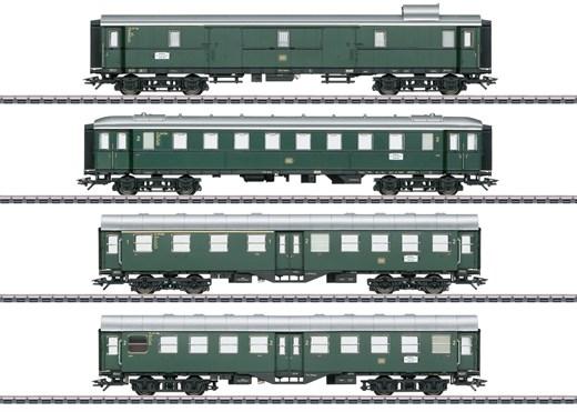 Märklin 41327 - Eilzugwagen-Set zum VT 92.5 DB