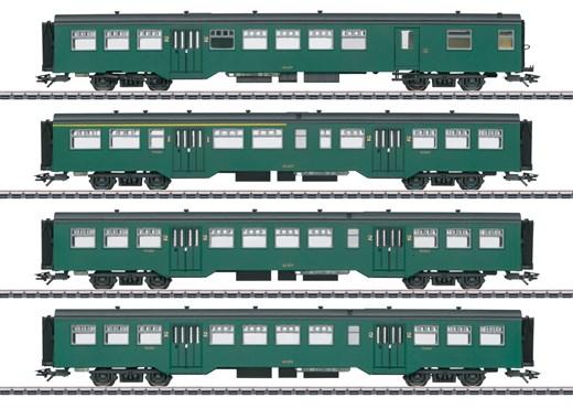 Märklin 43546 - Personenwagen-Set M2, Ep. III