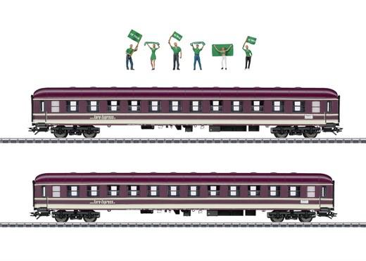 Märklin 43946 - Fanzug-Wagen-Set Euro Express