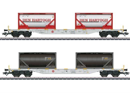 Märklin 47137 - Container-Tragwagen-Set Sgns
