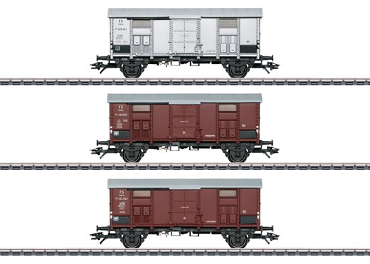 Märklin 47870 - Spitzdachwagen-Set zur BR 92