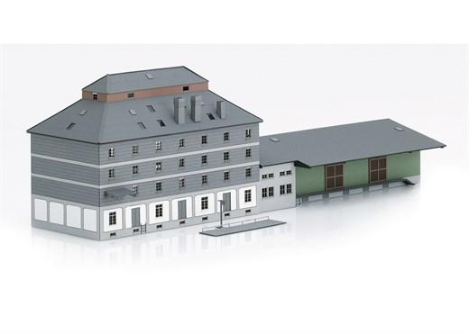 Märklin 72706 - Bausatz Raiffeisen Lagerhaus mit