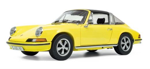 Schuco 450036400 - Porsche 911 S Targa (1973) gelb