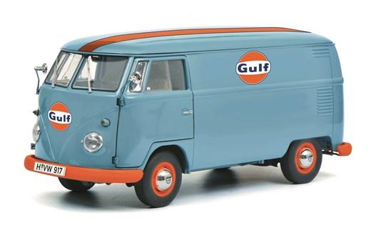 Schuco 450036800 - VW T1b Kastenwagen Gulf Editi