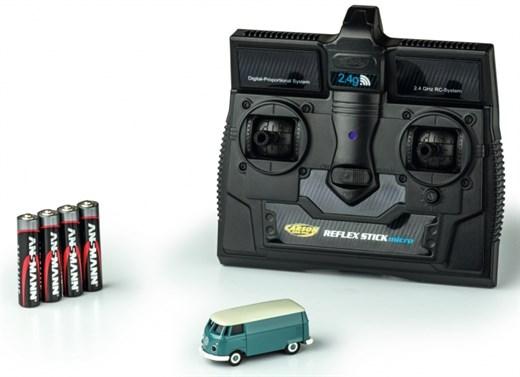 TAMIYA-CARSON 500504118 1:87 VW T1 Bus Kastenwagen