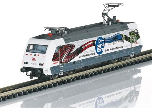 Trix 16087 - E-Lok BR 101, Design&Bahn,VI