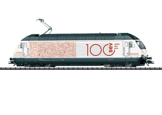 Trix 22412 - E-Lok Re 460 100 Jahre SEV SB