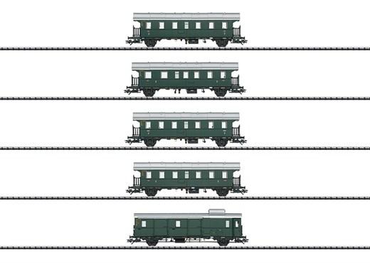 Trix 23308 - Personenwagen-Set Donnerbüchsen