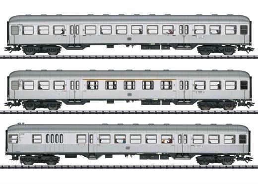 Trix 23495 - Personenwagen-Set Silberlinge