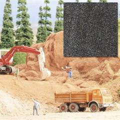 Busch 7524 - Quarzsand dunkelgrau Spur H0/TT/N/Z/G