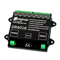 Digikeijs DR4018 - 16-channel switch decoder