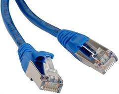 Digikeijs DR60881 - STP cable 1M blue