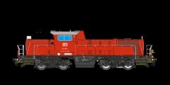 ESU 31250 - Diesellok, 261-054, DB, verkehrsrot, E