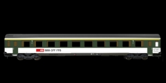 ESU 36382 - Einheitswagen SBB EW IV, Pullman I, gr