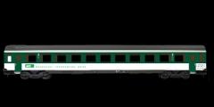 ESU 36440 - Einheitswagen BT EW IV, Pullman I, grü