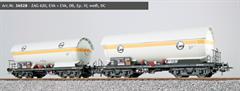 ESU 36528 - Gas-Kesselwagen Set, H0, ZAG 620, EVA