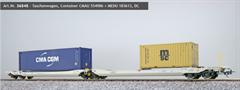 ESU 36545 - Taschenwagen, H0, Sdggmrs, 37 84 499 3