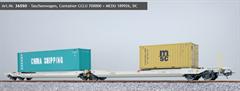 ESU 36550 - Taschenwagen, H0, Sdggmrs, 31 84 495 5