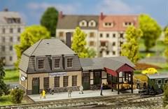 Faller 282704.00 - Bahnhof Hüinghausen