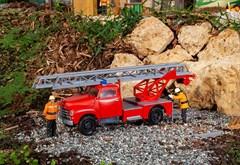 Faller 331614 - Feuerwehrfahrzeug Opel Blitz