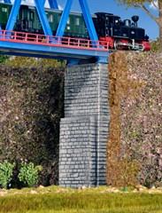 Kibri 37672 - N/Z Viadukt-Brueckenkoepfe, 2 Stueck