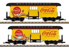 LGB 36847 - Gepäckwagen Coca Cola