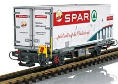 LGB 46897 - Containerwagen Spar RhB