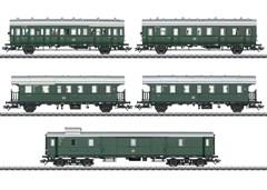 Märklin 43144 - Personen-Wagenset zur E 44.5