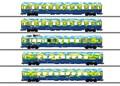 Märklin 43878 - Personenwagen-Set Touristik-Z