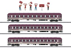Märklin 43947 - Fanzug-Wagenset Euro Express