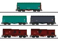 Märklin 46875 - Güterwagen-Set Class 66,5 W.,