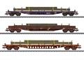 Märklin 47160 - Flachwagen-Set, CFL Cargo, Ep