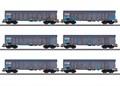 Märklin 47189 - Hochbordwagen-Set Ealnos NL