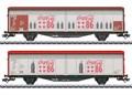 Märklin 48345 - Schiebewandwagen-Set Hbbills, CC,