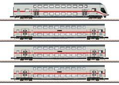 Märklin 87298 - Doppelstockwagen-Set IC2 DB A