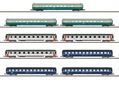 Märklin 87408 - Wagendisplay Schnellzugwagen