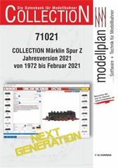 modellplan 71021 - COLLECTION Spur Z Jahresversion