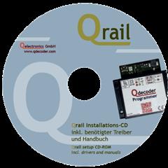 Qdecoder QD075 - Qrail Installations-CD