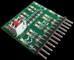 Qdecoder QD081 - Debug-LED-Leiste für Z2/ZA2