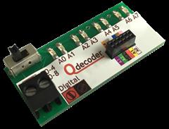 Qdecoder QD082 - LED Testleiste für F0-Decoder
